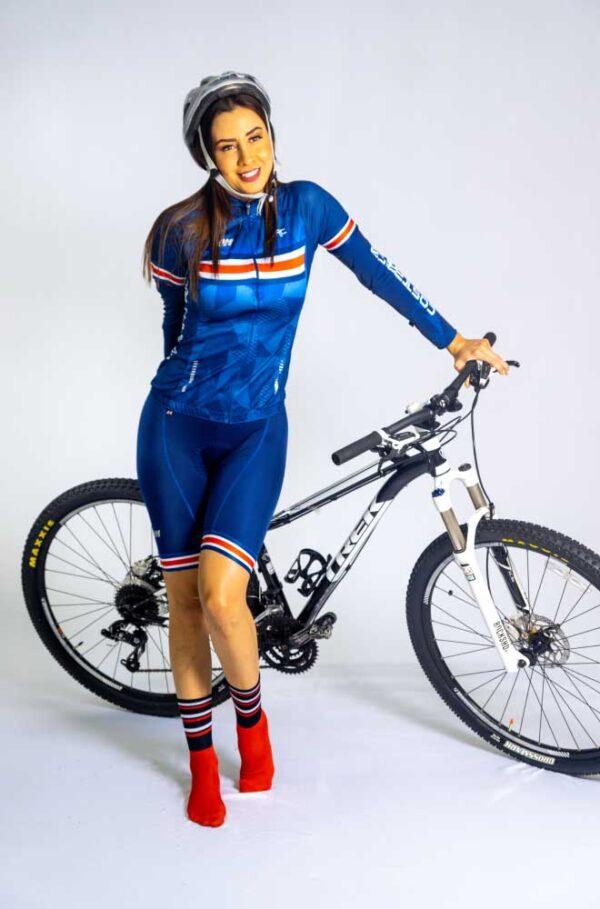 uniformes de ciclismo de mujer enterizos
