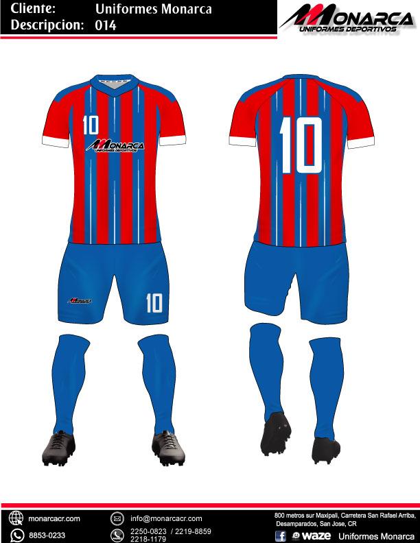 Uniformes de futbol sublimados