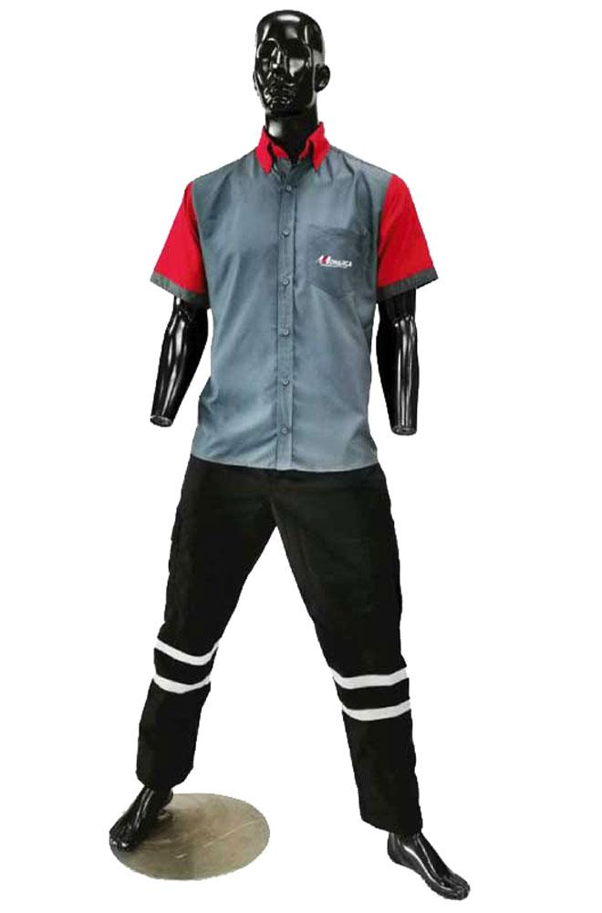 uniformes empresariales industriales para empresas